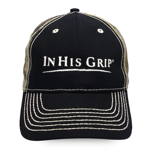 In His Grip Camouflage Hat