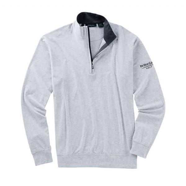 Bobby Jones Liquid Cotton Quarter Zip Pullover