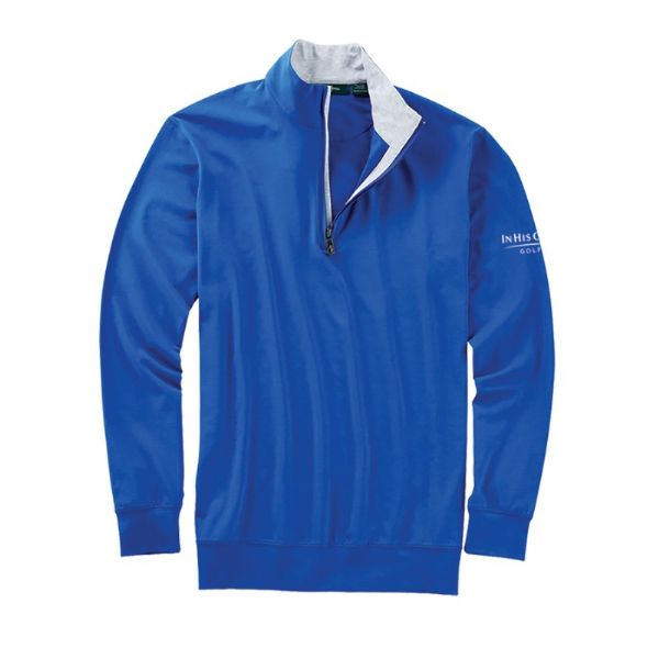 Bobby Jones Liquid Cotton Pullover Quarter Zip